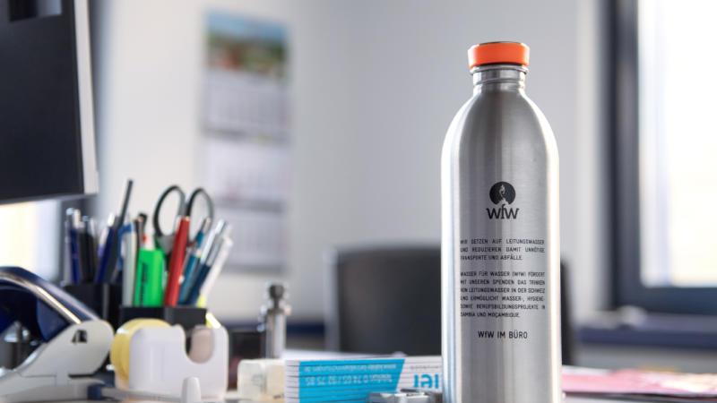 Wasser für Wasser - Projekt im GROB-Betrieb