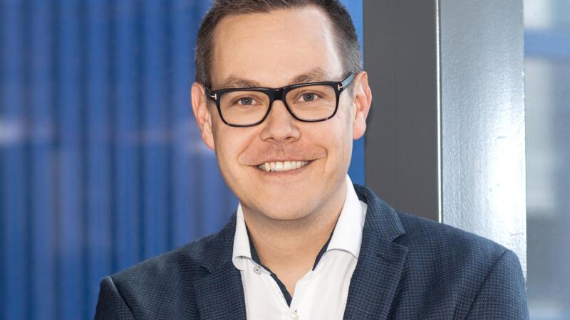 Portraitbild Rafael Fellmann, Geschäftsleiter GROB AG